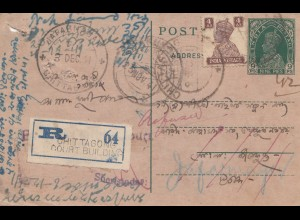India: 1941: Registered Chittagong