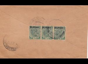Burma 1940: letter to Kothamangalam