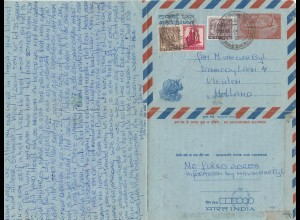 India 1976: letter to Vleuten/Holland