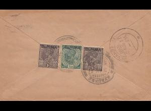 India 1937: letter to Devakotta