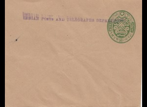 India: unused letter Indian post and Telegraphs Department