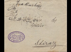 India: 1900 letter Bobmay to Shiraz