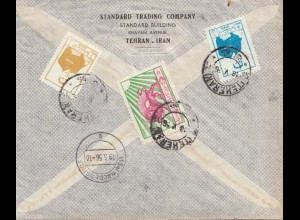 1956 Teheran to Waldershof, Registered
