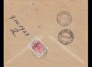 1923 Teheran /Meched to Fürth