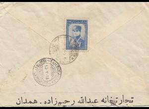 letter Hamadan to Hamburg