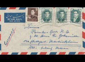 air mail Khorram Chahr to Stuttgart, Sales engines