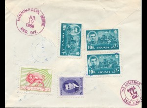 1966: Ministry of Agriculture Teheran to Minnesota, Gladstone