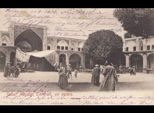 1912: post card Teheran to Hamburg