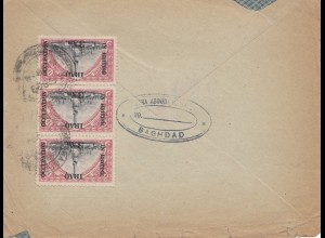 Iraq: letter Baghdad to London, air mail