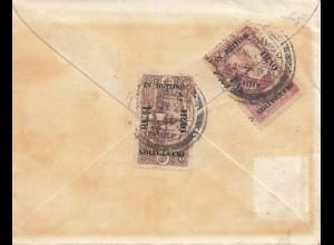Iraq: 1920 letter to New York, British occupation