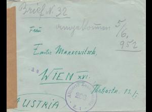 Iraq: 1952 Mosul to Wien, Alliierte Zensur