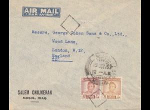 Iraq: 1952: Mosul to London