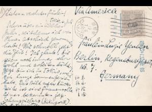 Japan 1912: post card Tokyo to Berlin