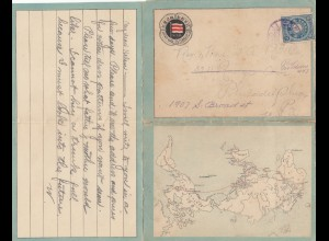 Japan 1911; Moji to Philadelphia, very interessting