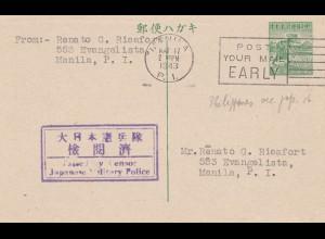 Japan 1943: Manila, Japanese Military Police