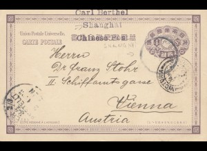 Japan 1902: Shanghai to Vienna/Austria