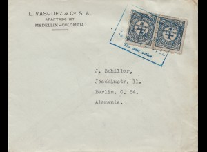 Colombia 1928: Medellin to Berlin