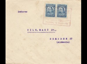 Colombia letter to Dresden