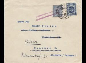 Colombia 1930: Cali to Hamburg/Altona