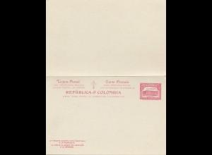 Colombia unused post card P51