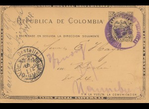 Colombia 1899: Cartagena to Berlin