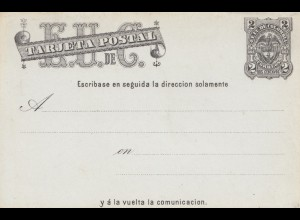 Colombia post card unused, Q/A