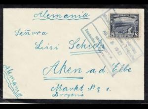 Colombia 1932: Bogota to Aken/Elbe