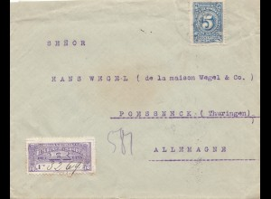 Colombia 1913: Cartagena via New York to Poessneck