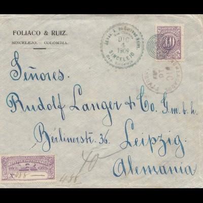 Colombia 1909: Sincelejo to Leipzig