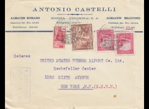 Colombia letter Bobota to New York