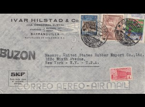 Colombia 1940: Barranquilla to New York - SKF