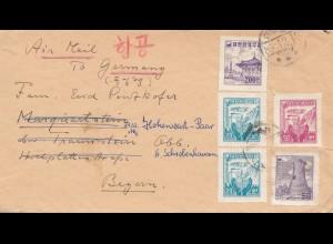 Korea 1918: Catholic Misson, Wakeman to Traunstein/Germany