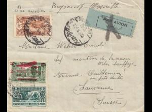 Libanon: 1932 Djounie via Beyrouth -Marseille to Lausanne/Switzerland