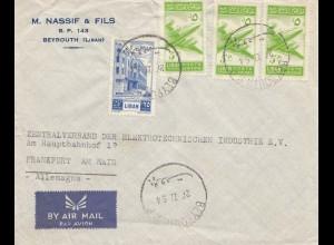 Libanon: 1954: Beyrouth to Frankfurt - Elektrotechnik