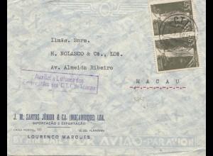 Macau 1950: Mocambique to Macau