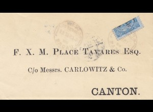 Macau 1910: letter to Canton