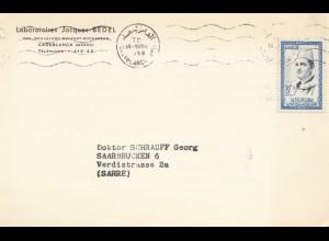 Maroc 1958: Casablanca to Saarbrücken; German text, Medicin