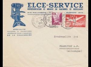 Maroc 1953: Casablanca to Frankfurt