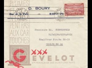 Maroc 1937: Rabat to Berlin