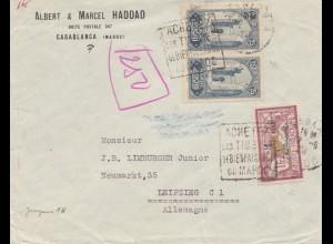 Maroc 1923: Casablanca to Leipzig