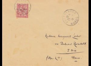 Maroc 1916: Casablanca to Nice/France