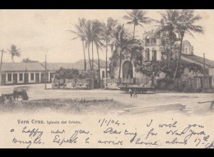 Mexico 1904: post card Vera Cruz to London