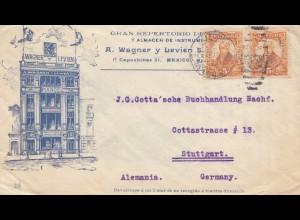 Mexico 1913: Capuchinas to Stuttgart, Gramophone, Maestrofono, Pianos, Music
