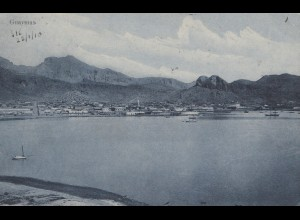 Mexico 1910: post card Guaymas to Manchester