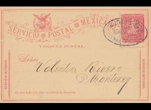 Mexico post card to Monterey
