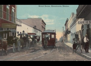 Mexico 1925: post card Matamoros used in Switzerland