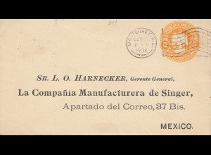 Mexico 1904: Monterrey to Singer Manufactury