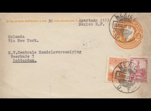 Mexico 1925: letter to Rotterdam/Holland