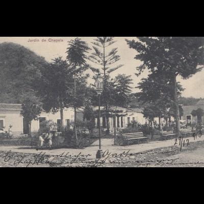 Mexico 1914: post card Guadalajara to Berlin