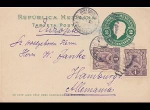 Mexico 1912: post card San Diegnito to Hamburg